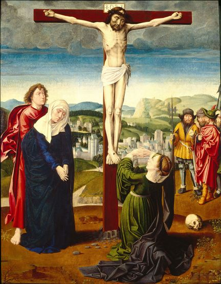 The Crucifixion - Gerard David (v. 1455-1523) - Georgia Museum, USA