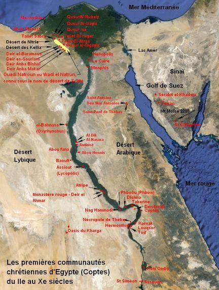 Les premières communautés chrétiennes en Egypte