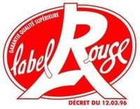 Logo Label Rouge - Décret du 12.03.1992