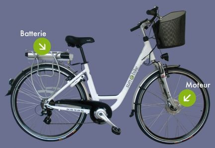 Sun-e-Bike: mixed bike