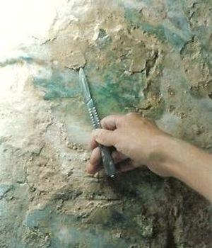 Restauration Par Nathalie Le Van En 1999 De La Peinture