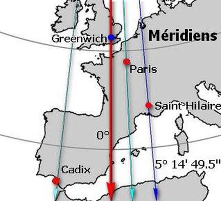 Carte Europe Avec Meridiens.Les Cadrans Solaires Au Fil Du Temps Theorie Histoire