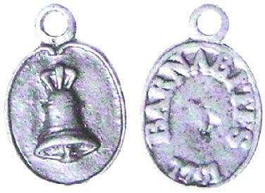 Médaille servant de laisser-passer au couvent des Barnabites (1791)