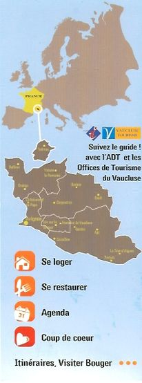Tout sur les applications mobiles les offices de tourisme les syndicats d 39 initiative otsi - Office du tourisme vaucluse ...