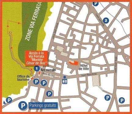 D couvrez la via ferrata urbaine de caivaillon - Office de tourisme de cavaillon ...